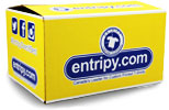 Entripy delivery box. Free shipping on any order over $250.