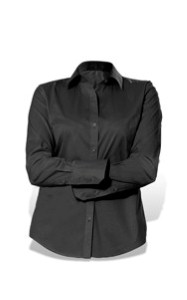Picture of Calvin Klein Ladies L/S Stretch Shirt