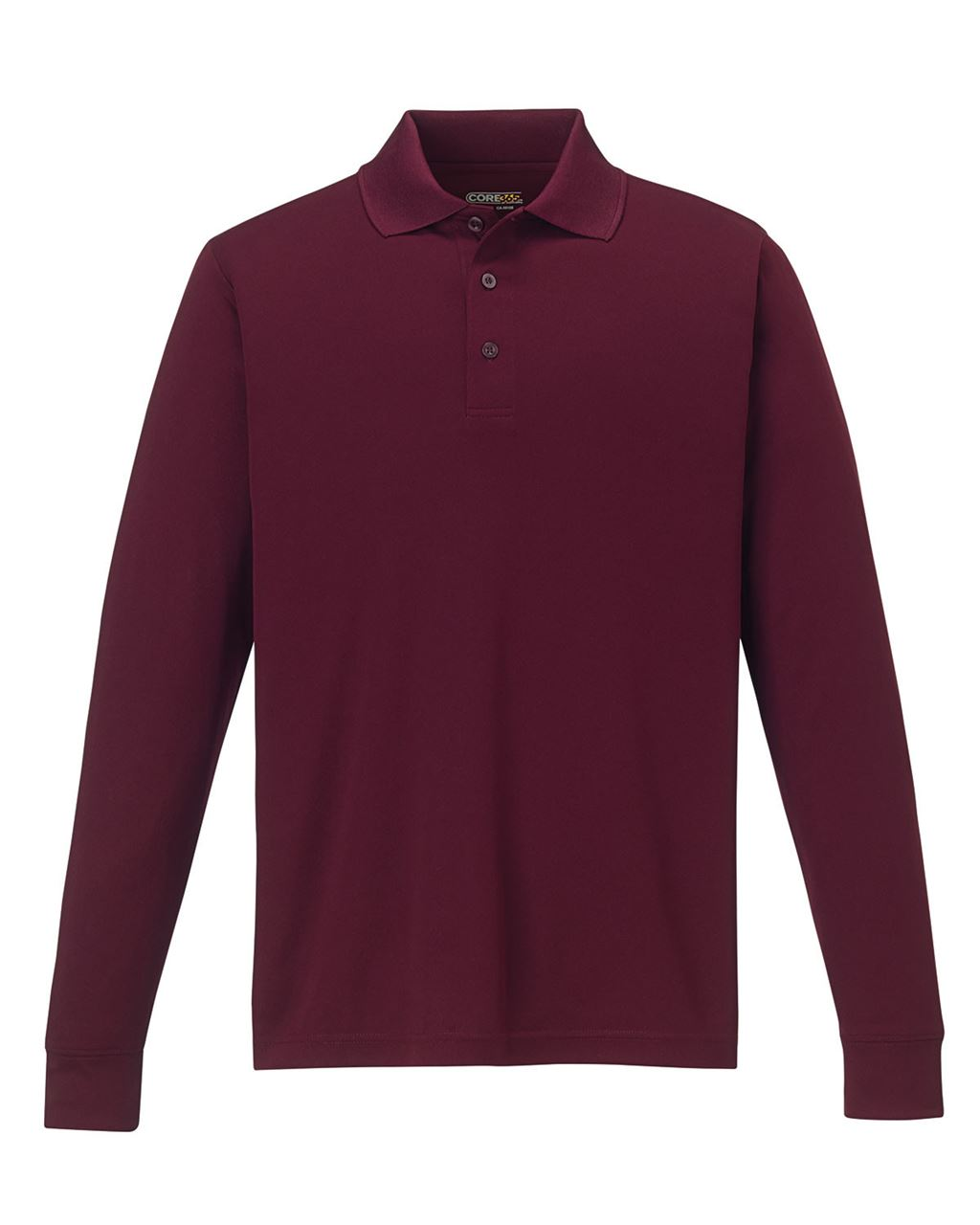 Picture of Core365 Men's Performance Long Sleeve Pique Polos
