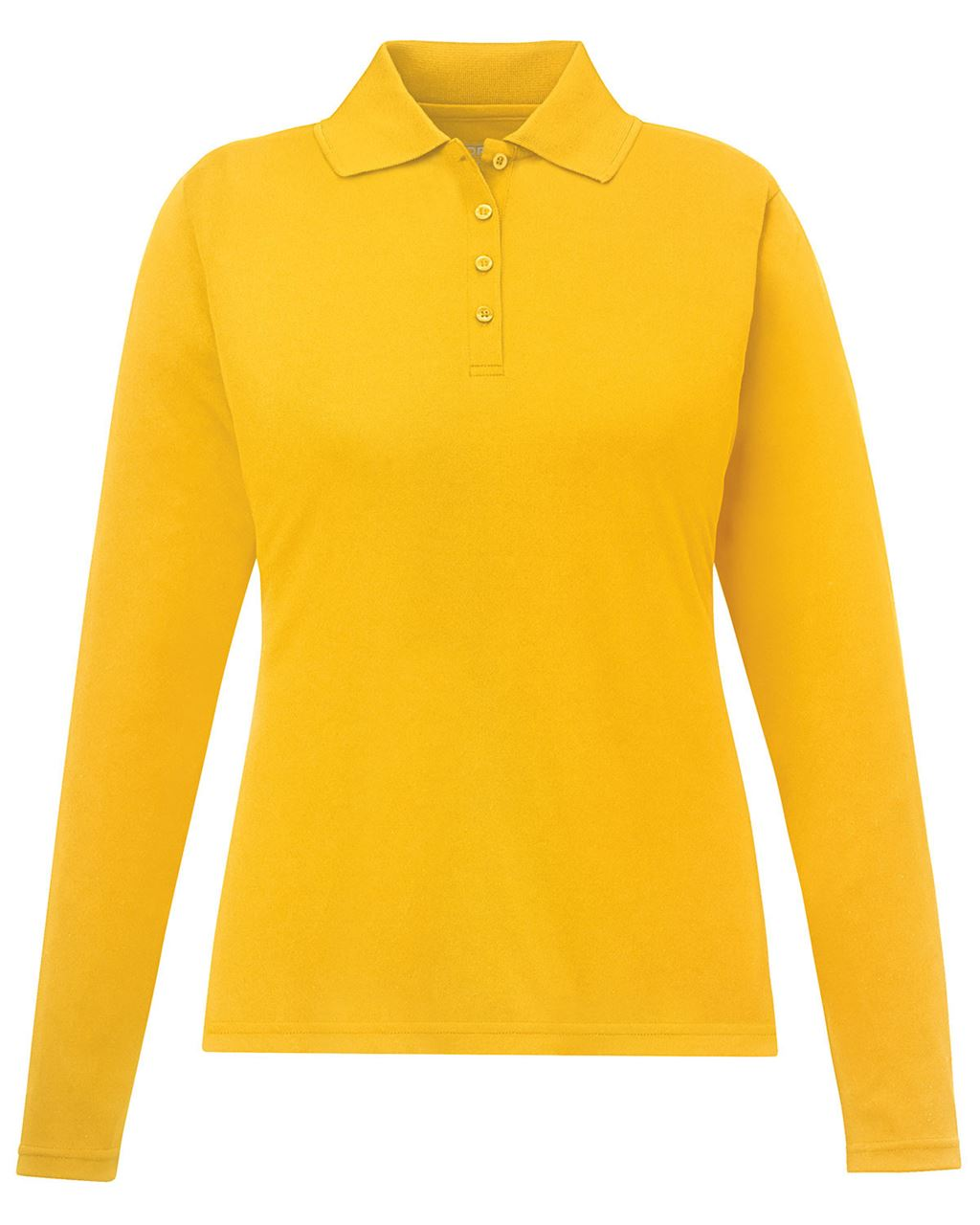 Picture of Core365 Ladies Performance Long Sleeve Pique Polo