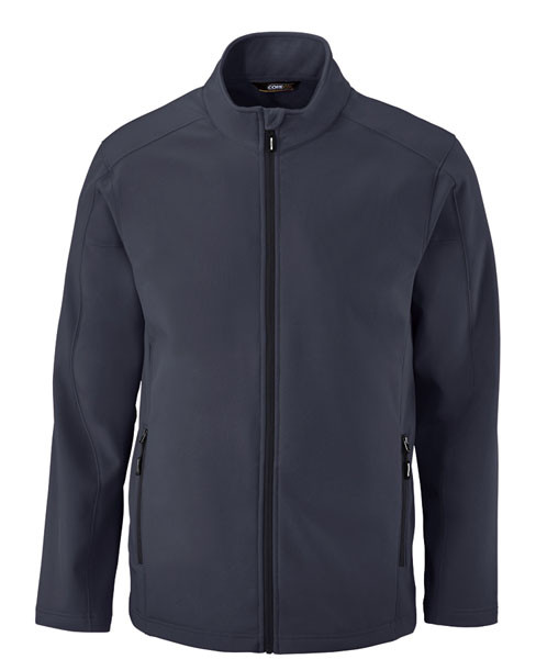 Picture of Core365 Men's 2-Layer Fleece Softshell Bonded Jacket