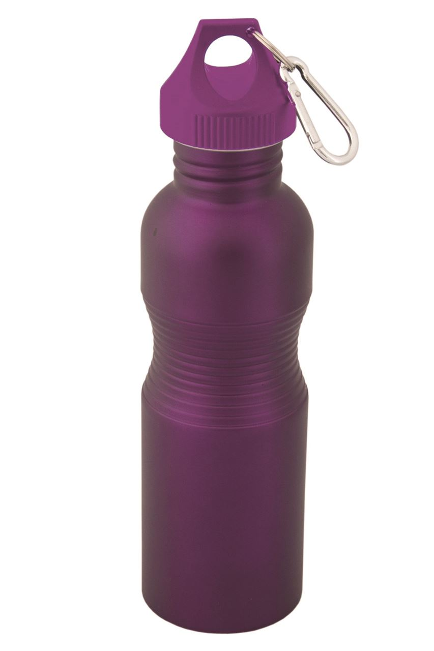 Picture of DEBCO Matte Finish Wide Mouth Stainless Steel Water Bottle
