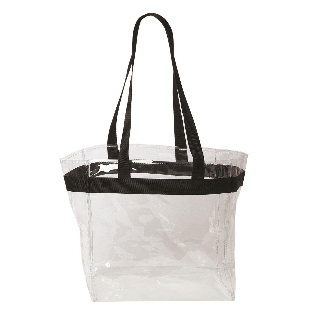 Image result for clear vinyl tote bag