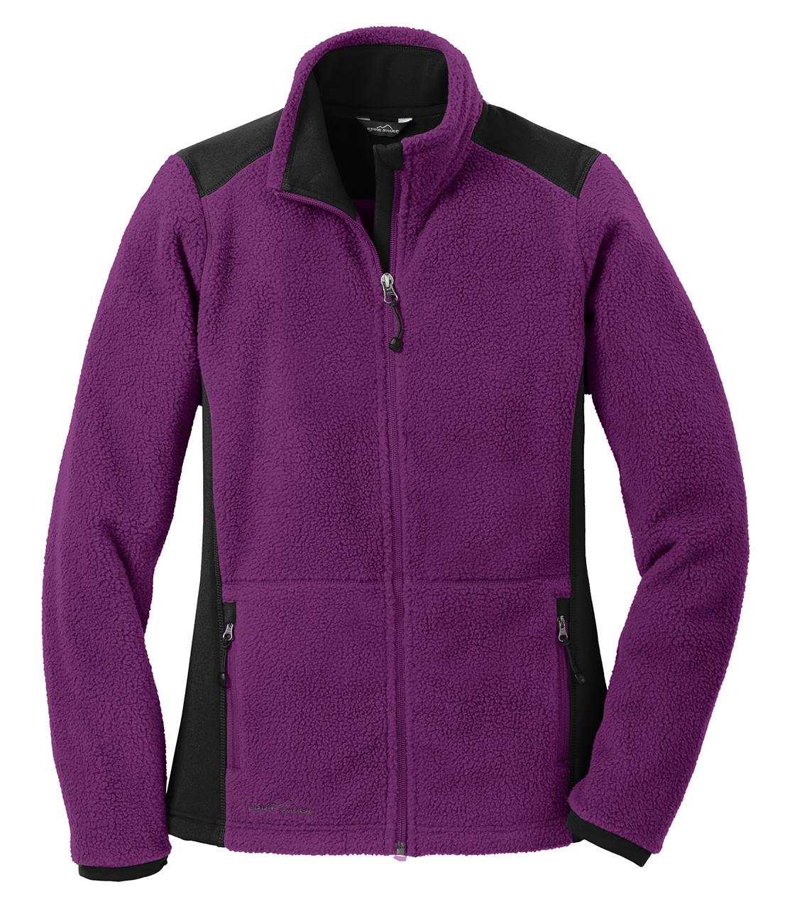 Picture of Eddie Bauer Sherpa Full Zip Fleece Ladies' Jacket