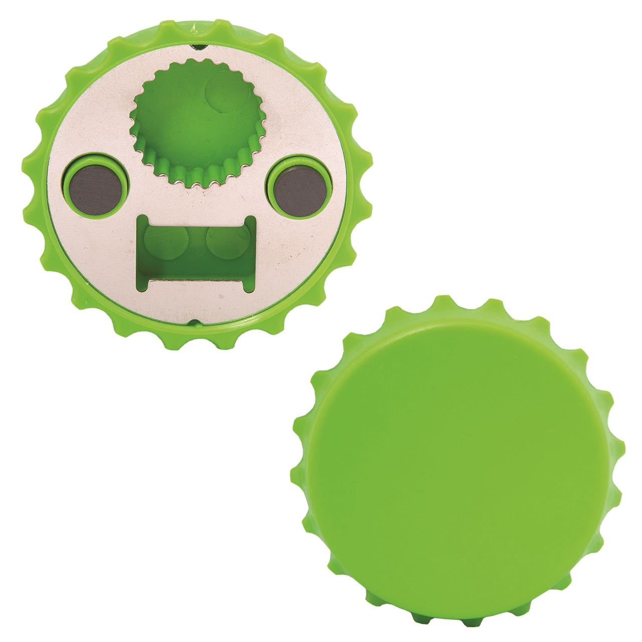 bottle cap shaped opener custom promotional products