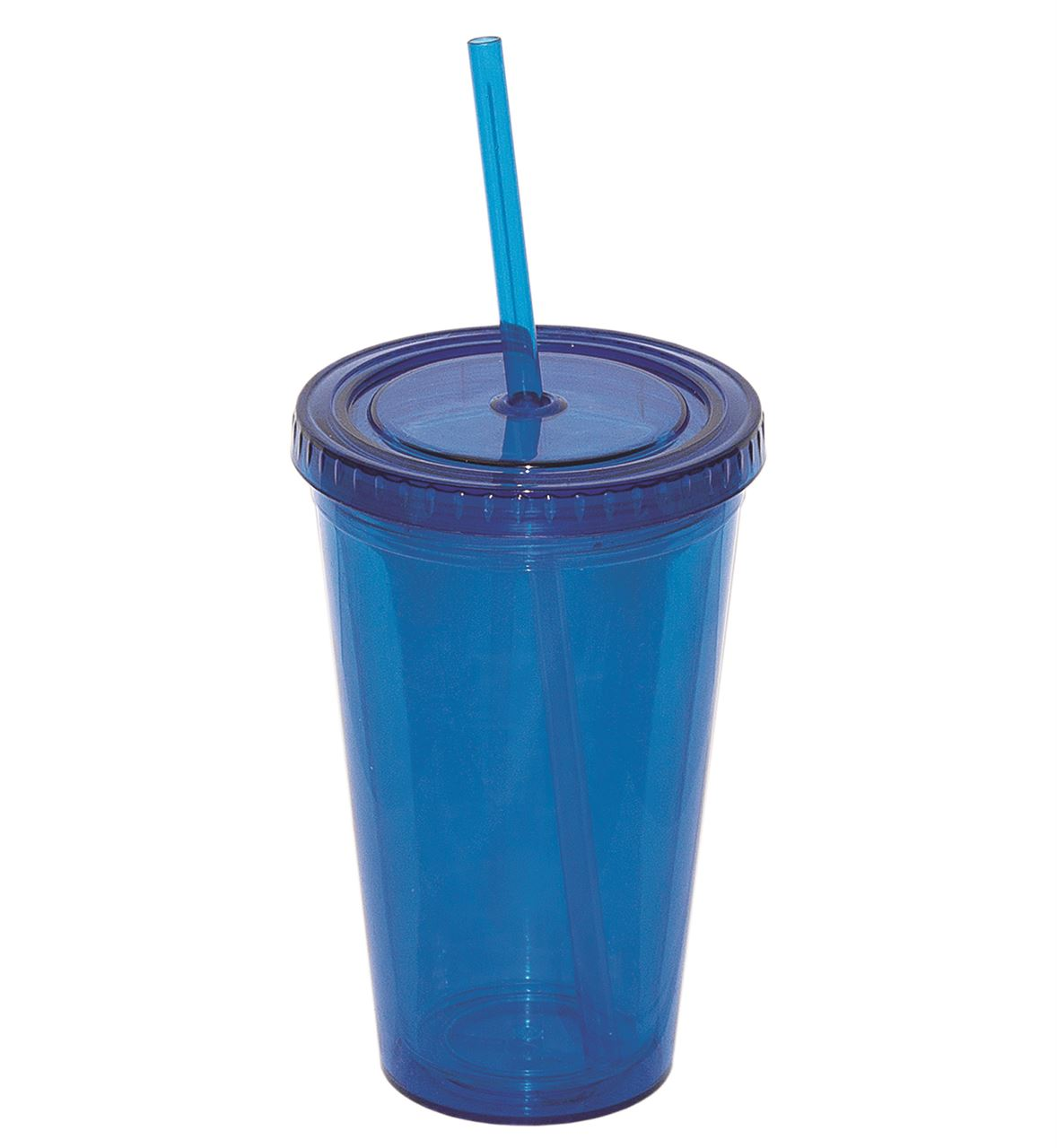 Picture of DEBCO Double Walled Tumbler With Matching Straw