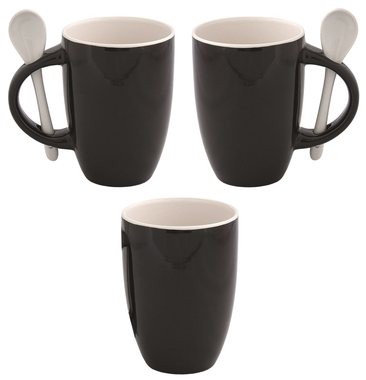Picture of DEBCO Fuzion Two-Tone With Spoon Mug