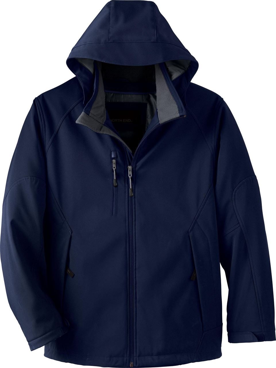 Picture of North End Glacier Men'S Insulated Soft Shell W/ Detach. Hood