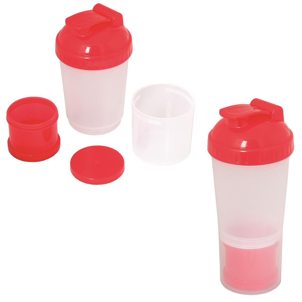 Picture of Fitness Fanatic 600 Ml. (20 Oz.) Shaker Bottle