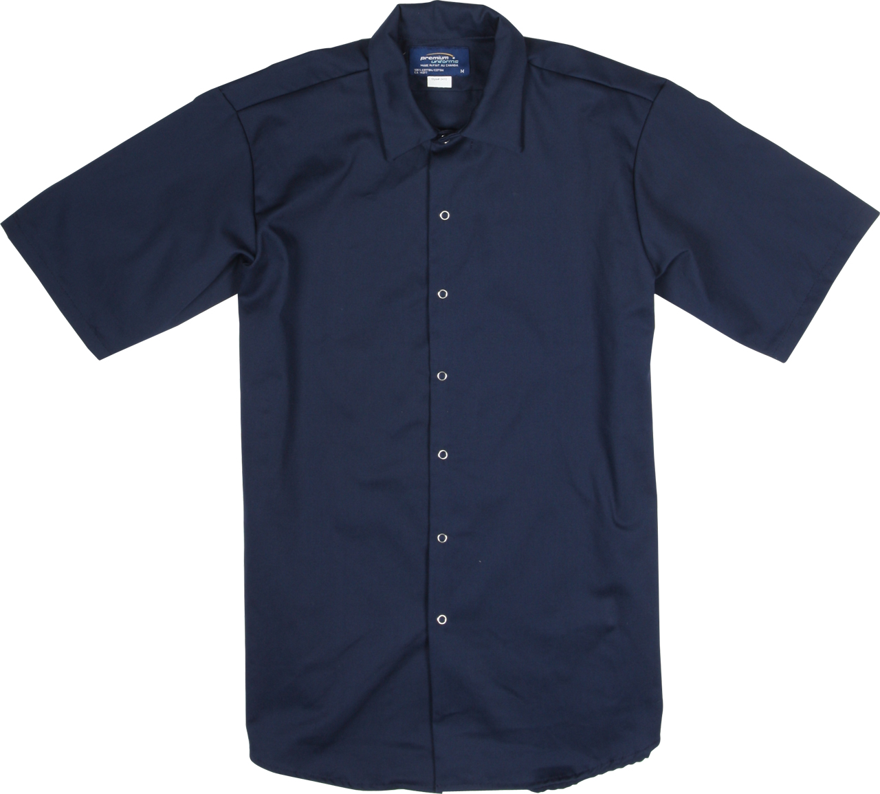 Picture of Premium Uniforms 100% Cotton Short Sleeve Food Industry Shirt