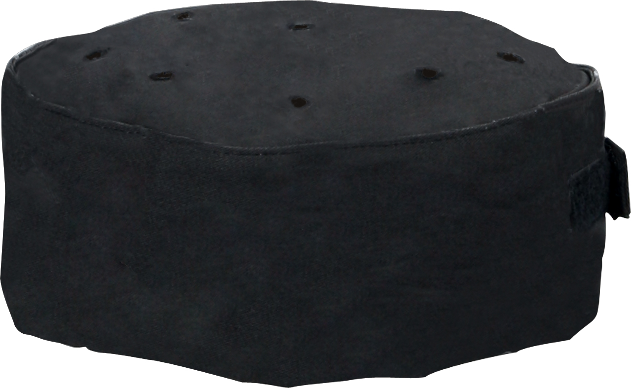 Picture of Premium Uniforms Black Pill Box Cap