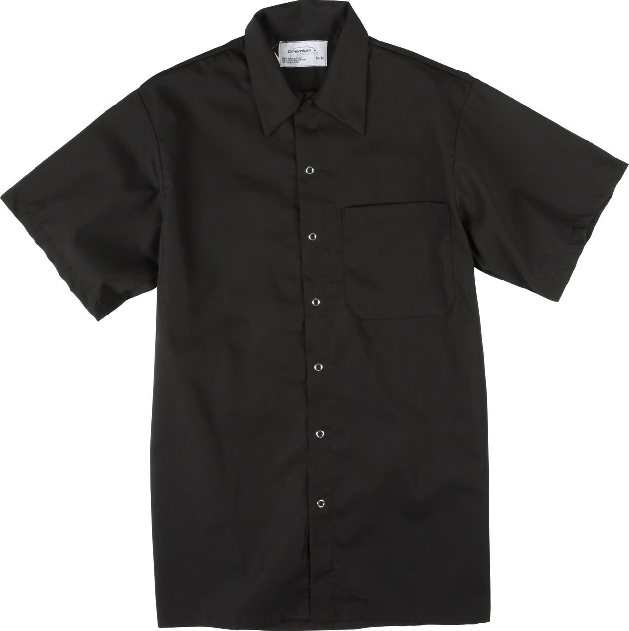 Picture of Premium Uniforms Cook Shirt With Snap & Chest Pocket