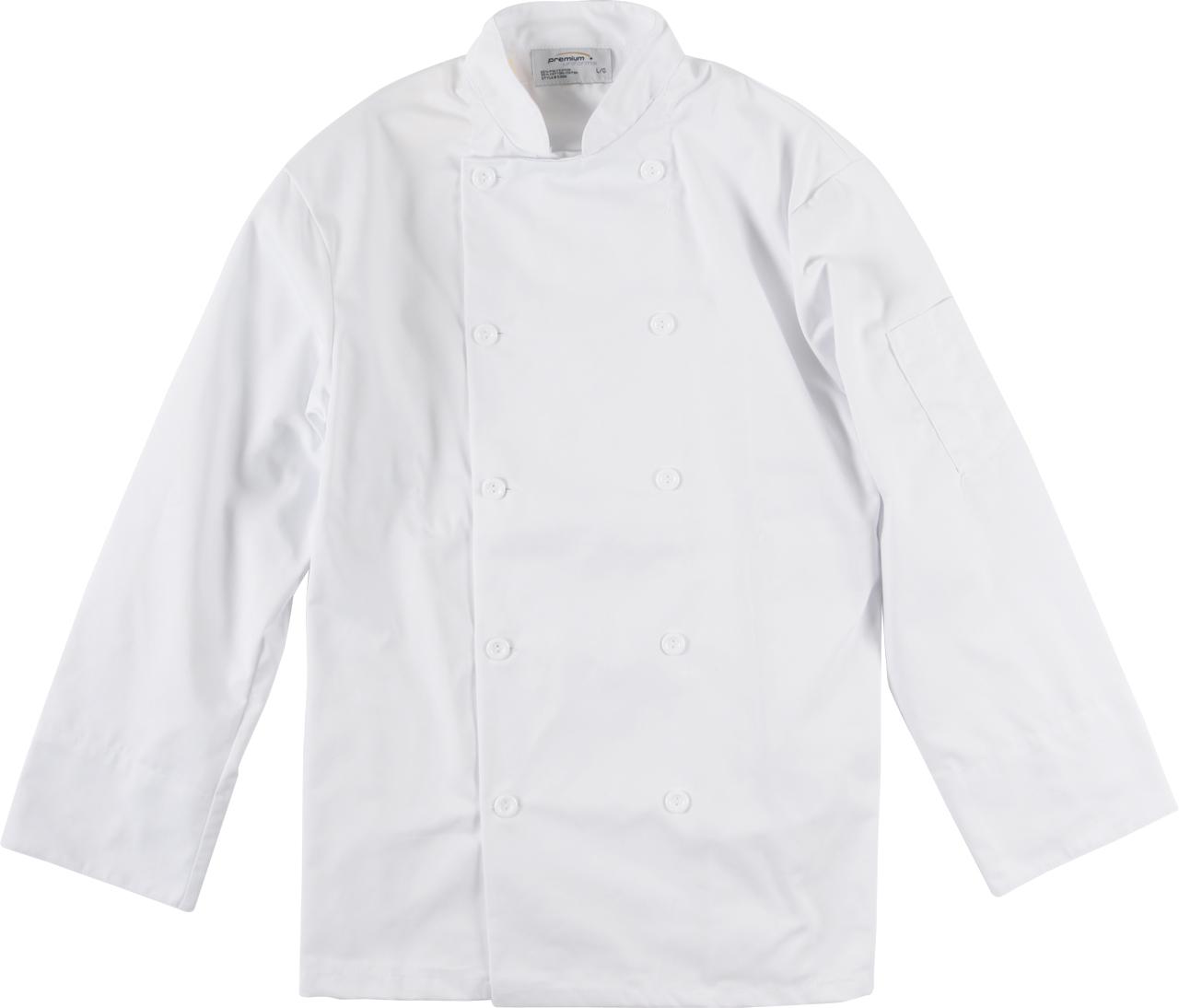 Picture of Premium Uniforms Long Sleeve Econo Chef Coat