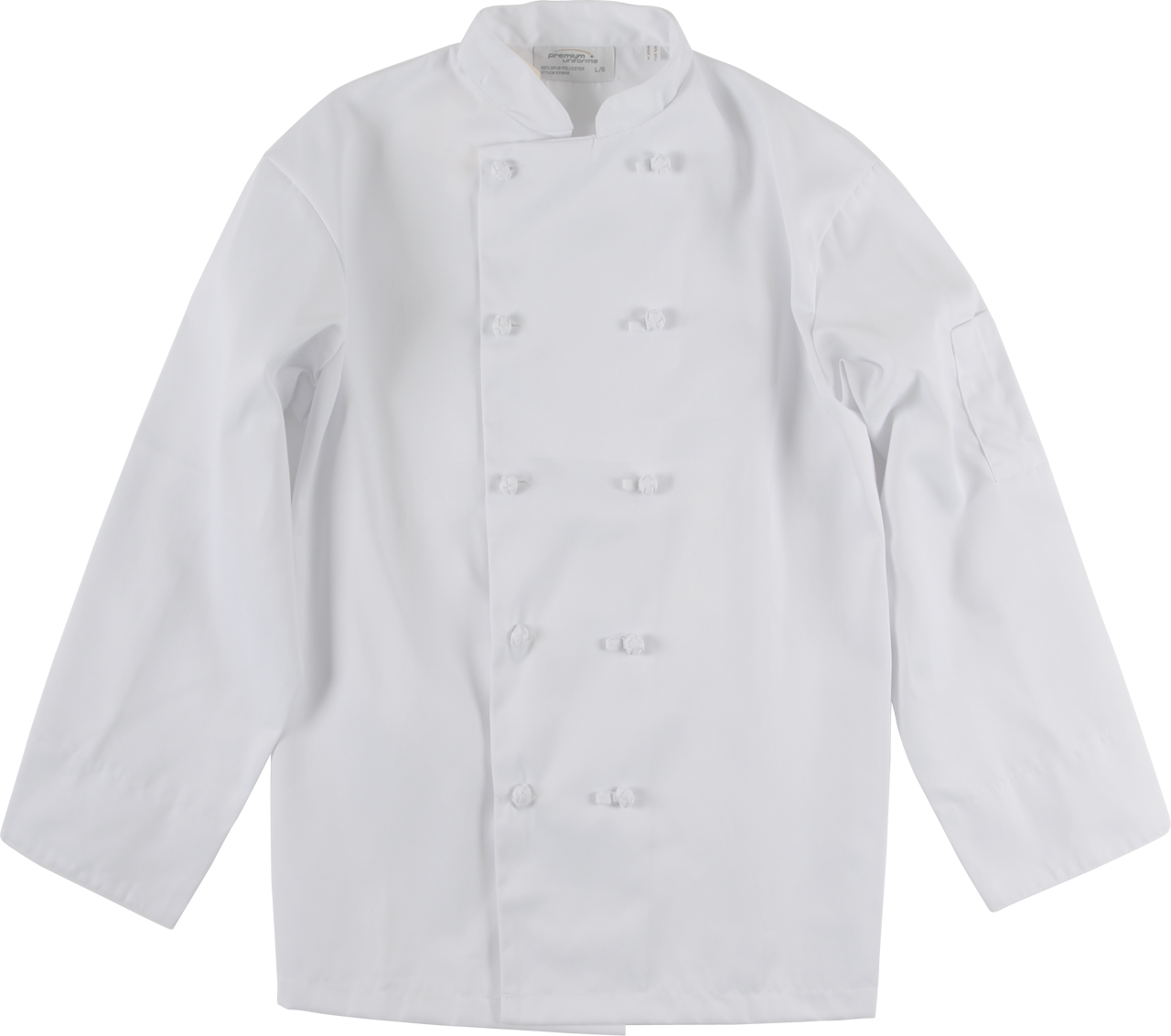 Picture of Premium Uniforms Spun Poly Chef Coats With Knot Buttons