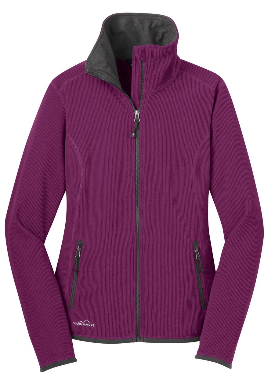 Picture of Eddie Bauer Full Zip Vertical Fleece Ladies' Jacket