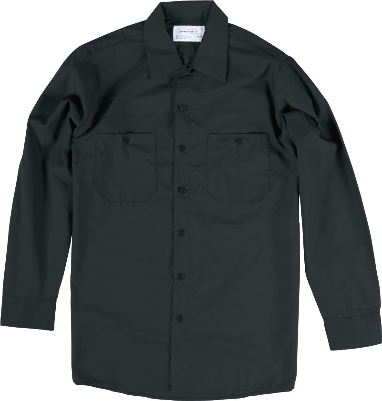 Premium Uniforms Long Sleeve Poly/Cotton Work Shirt