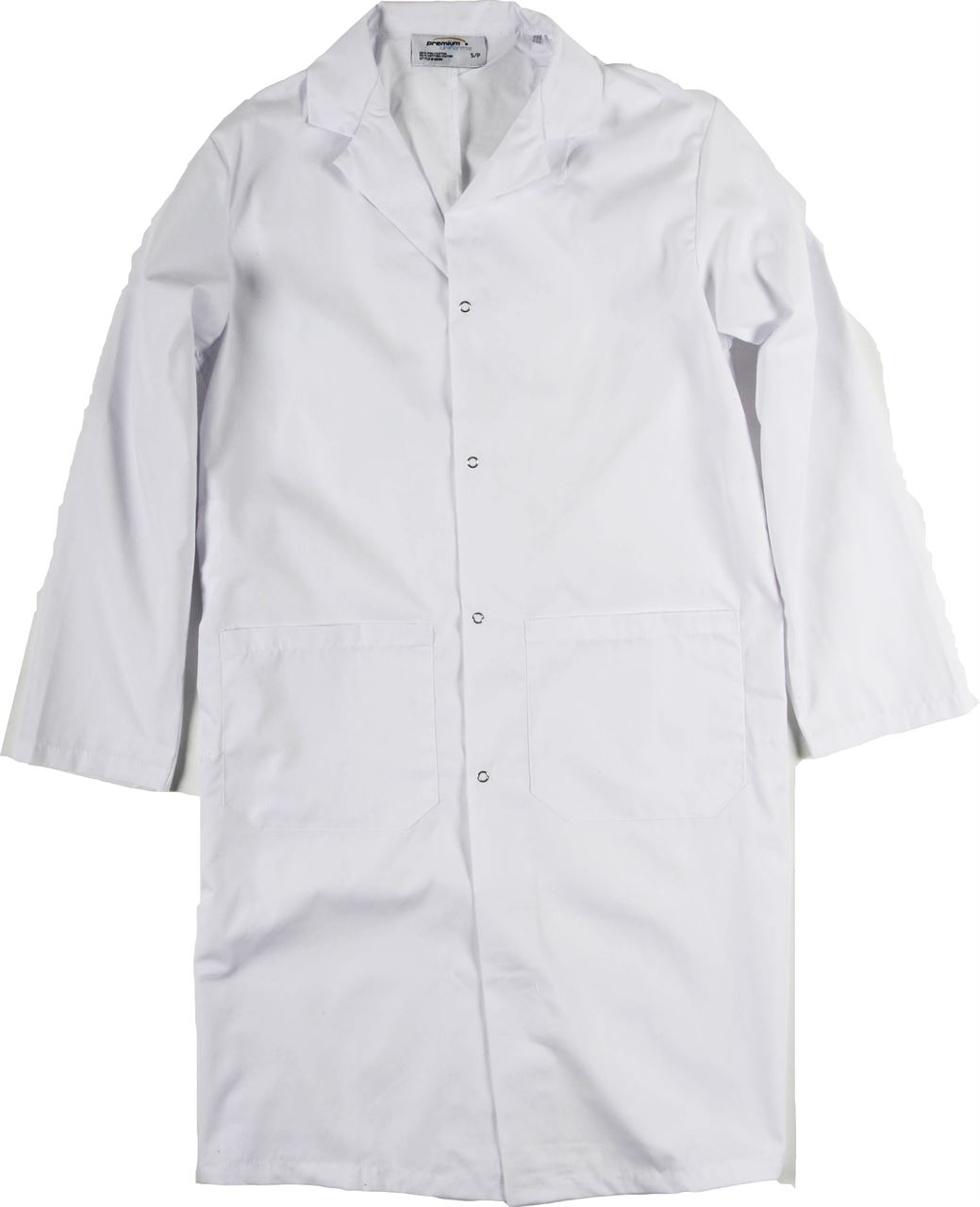 138e5d387b1 Picture of Premium Uniforms Men's Lab Coat With Snap Closure And Lower  Pockets