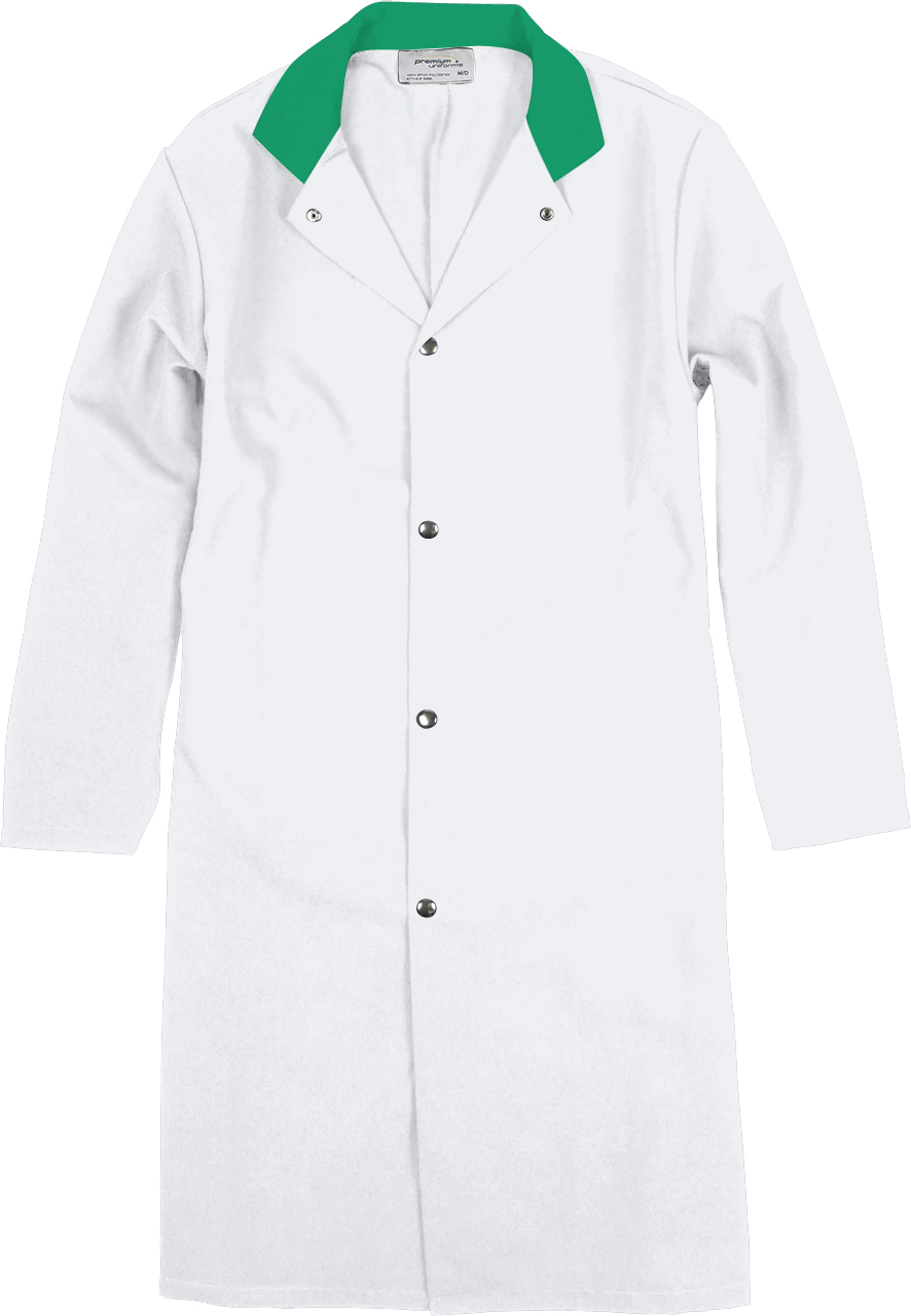 Picture of Premium Uniforms Long Coat With Dome Closure