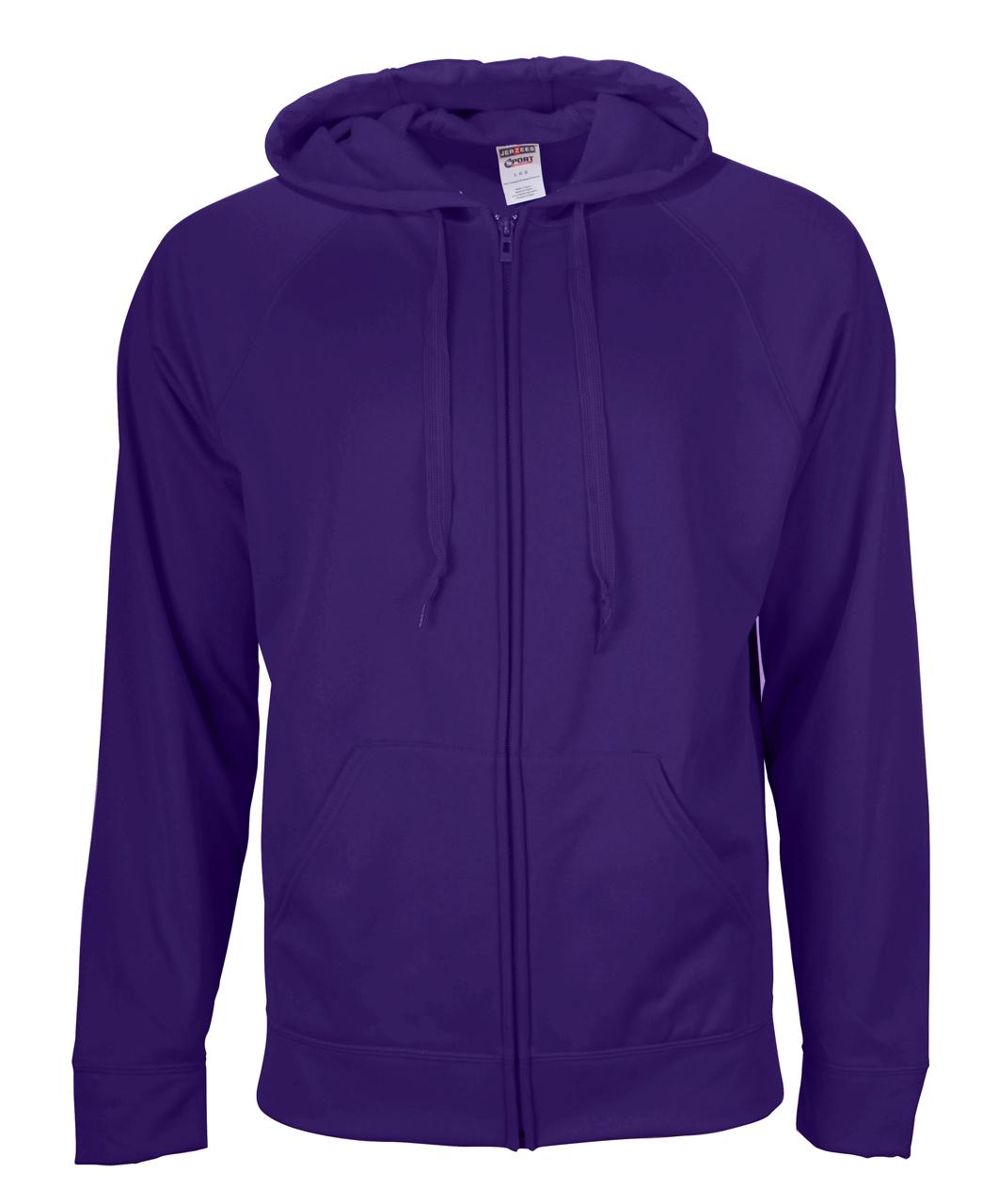 Picture of JERZEES Sport Tech Fleece Full-Zip Hooded Sweatshirt