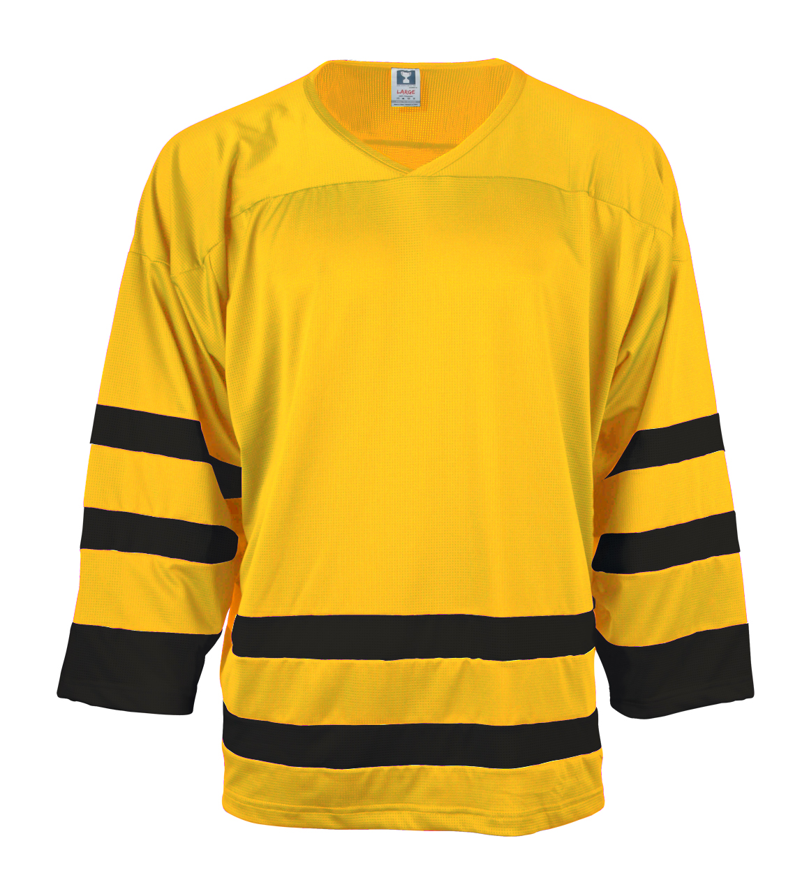 Picture of N3 SPORT Classic Striped Hockey Jersey