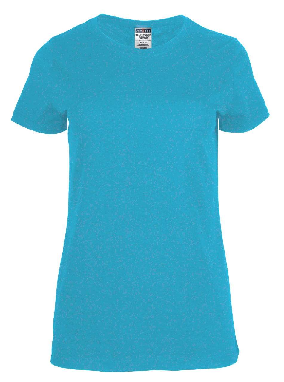 Picture of JERZEES Heavyweight Blend Ladies T-Shirt