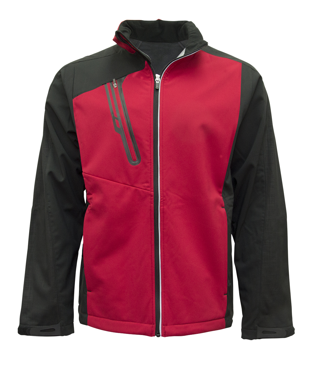 Picture of NORTH END Terrain Colourblock Soft Shell with Embossed Print
