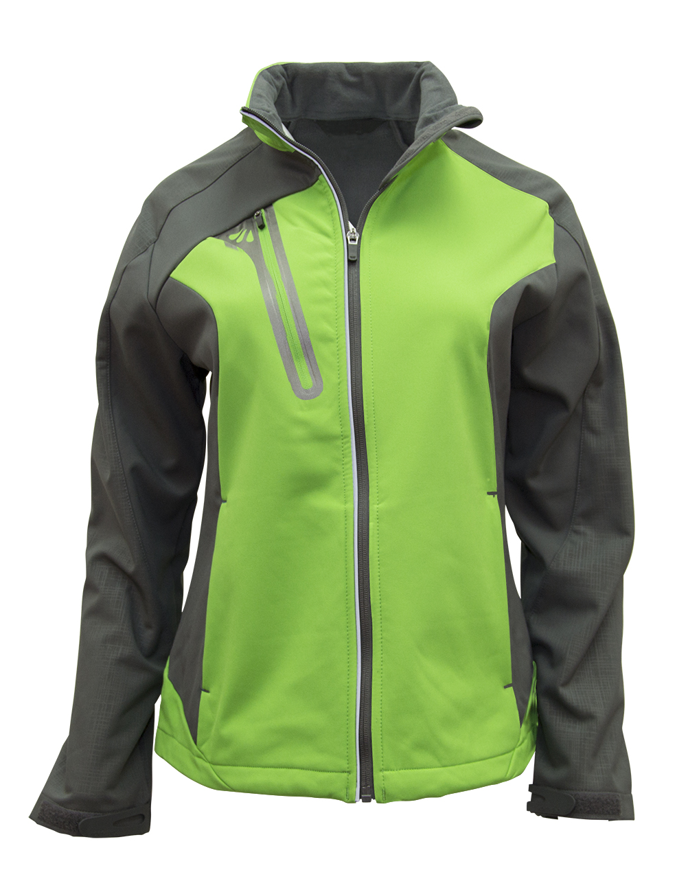 Picture of NORTH END Ladies' Terrain Colourblock Soft Shell with Embossed Print