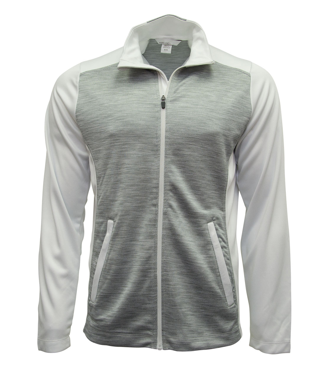 Picture of NORTH END Men's Shuffle Performance Mlange Interlock Jacket