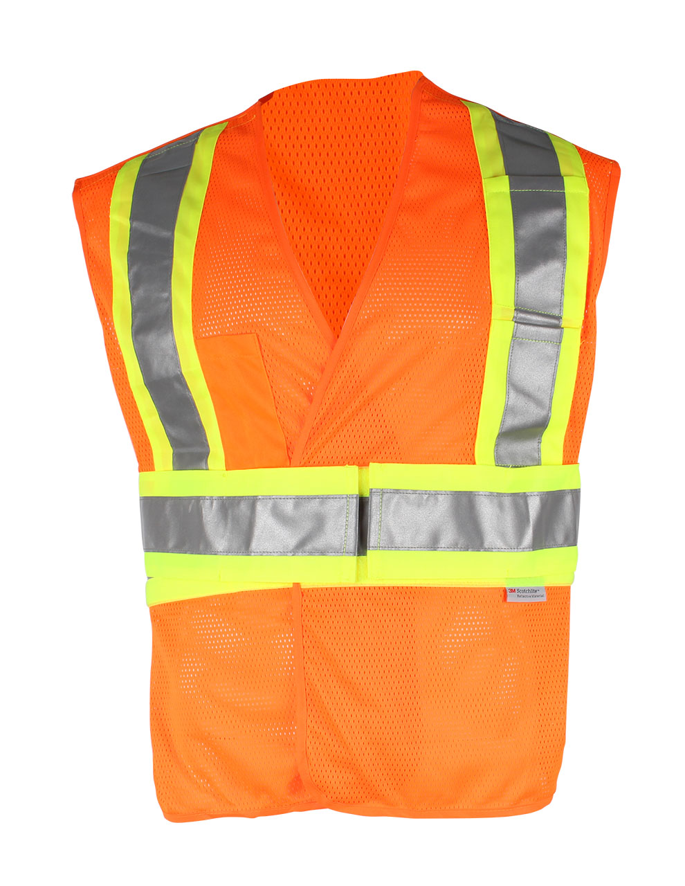 Picture of Sumaggo HV 5-Point Tear Away Mesh Vest with Contrast Reflective Material