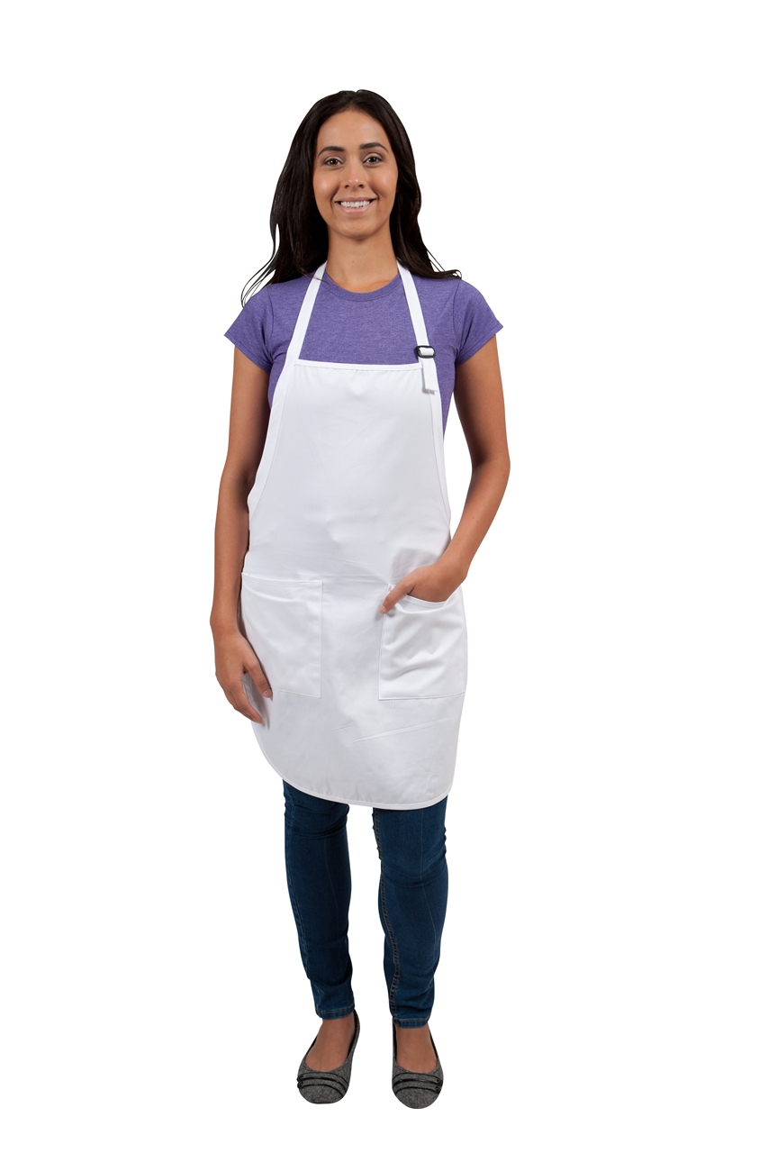 White apron green thumb - Available Sizes One Size
