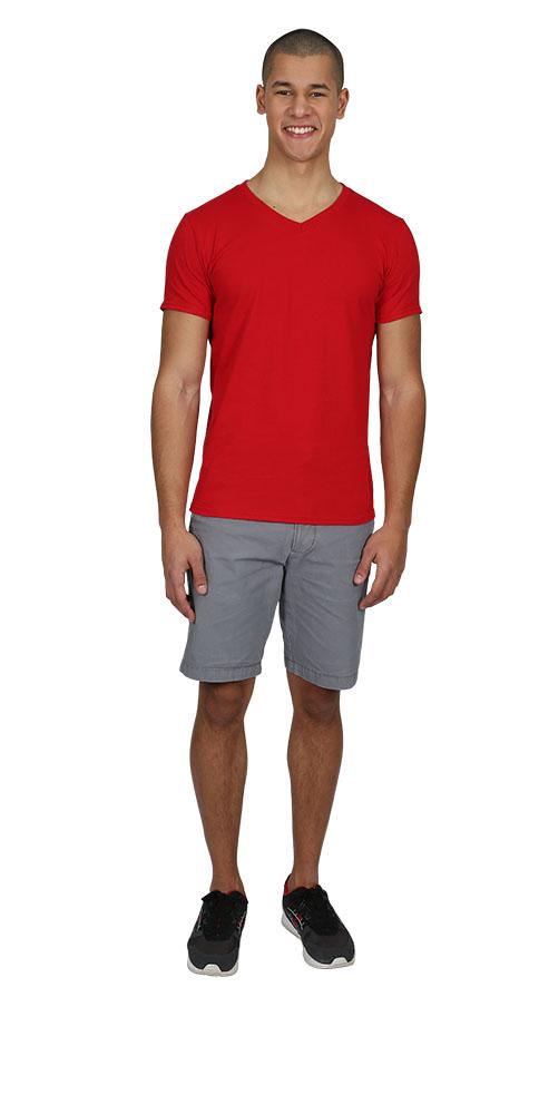 Picture of Gildan V-Neck T-Shirt