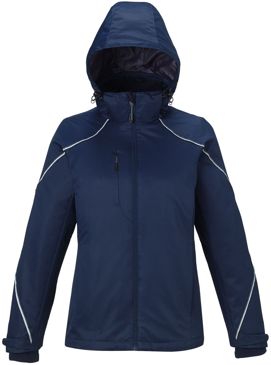 Picture of North End Angle Ladies 3-In1 Jacket With Bonded Fleece Liner