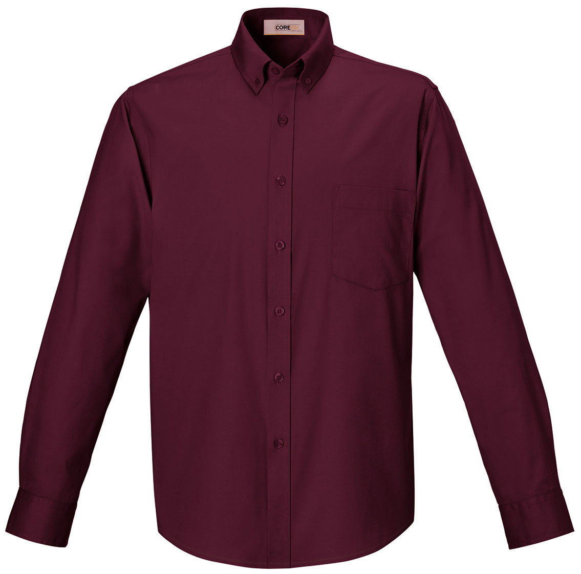 Picture of CORE365 Men's Long Sleeve Twill Shirts