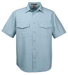 Picture of Harriton Men's Key West Short-Sleeve Performance Staff Shirt