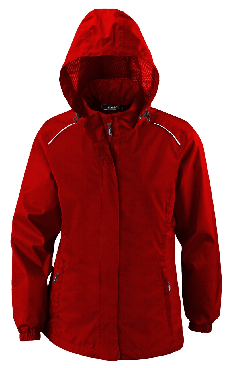 Picture of Core365 Ladies Seam-Sealed Variegated Ripstop Jacket