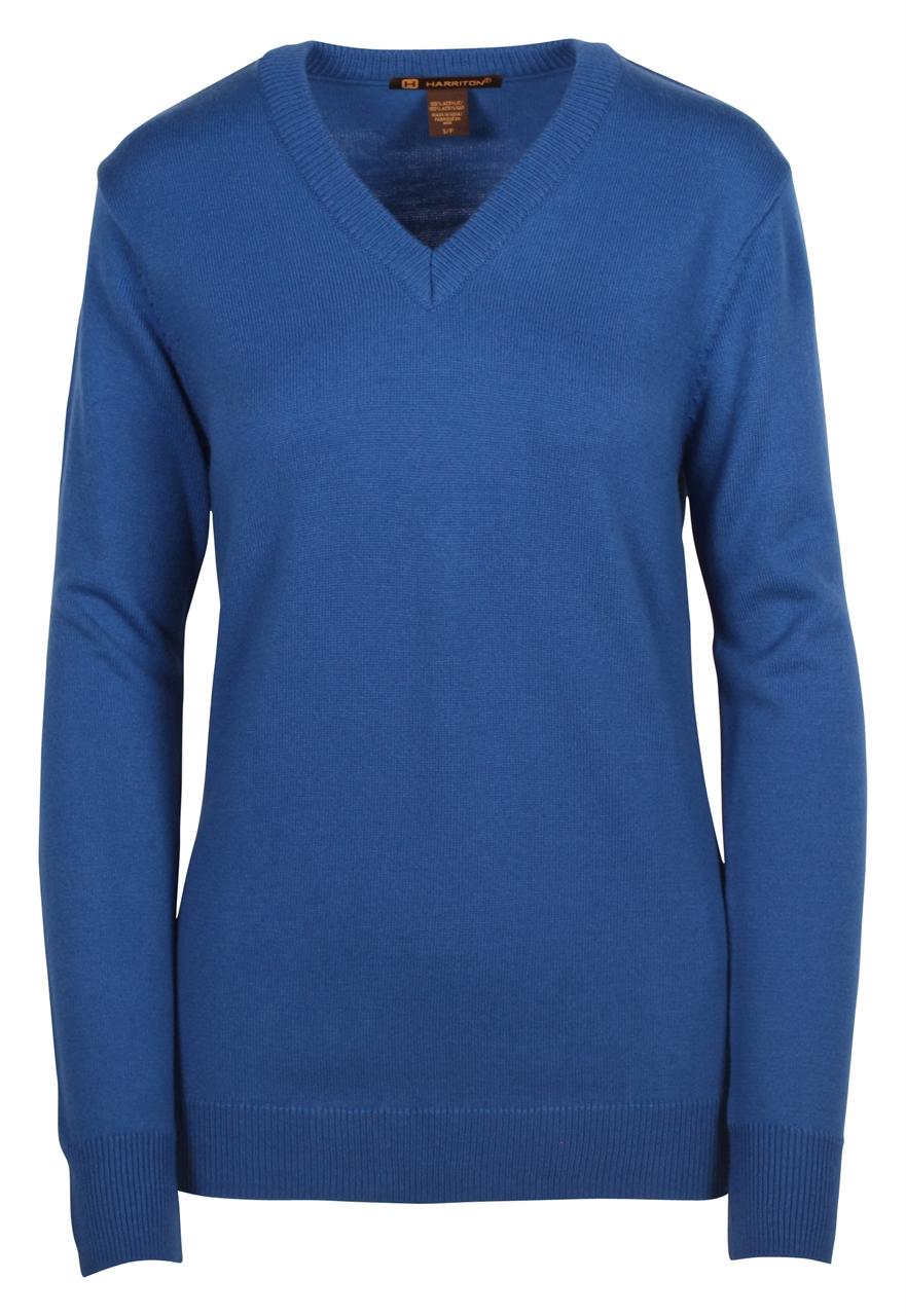 Picture of Harriton Ladies Pilbloc™ V-Neck Sweater