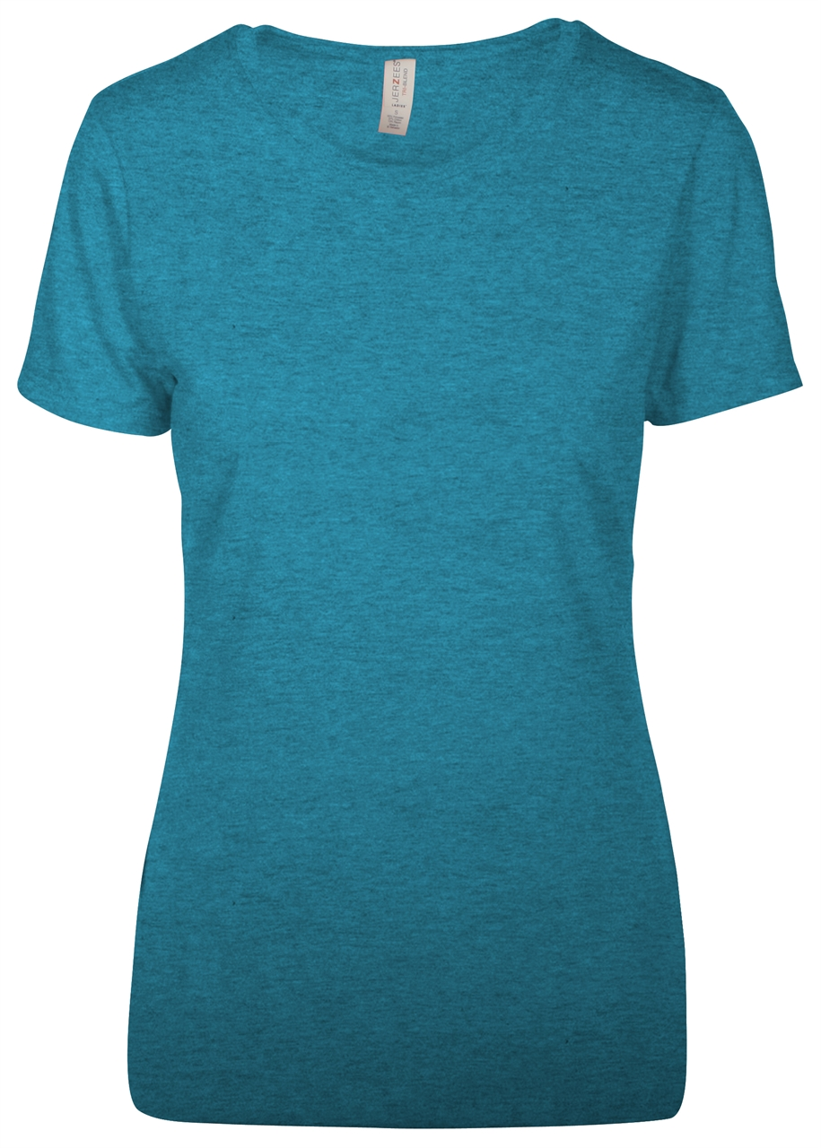 Picture of JERZEES TRI-BLEND Ladies' T-Shirt