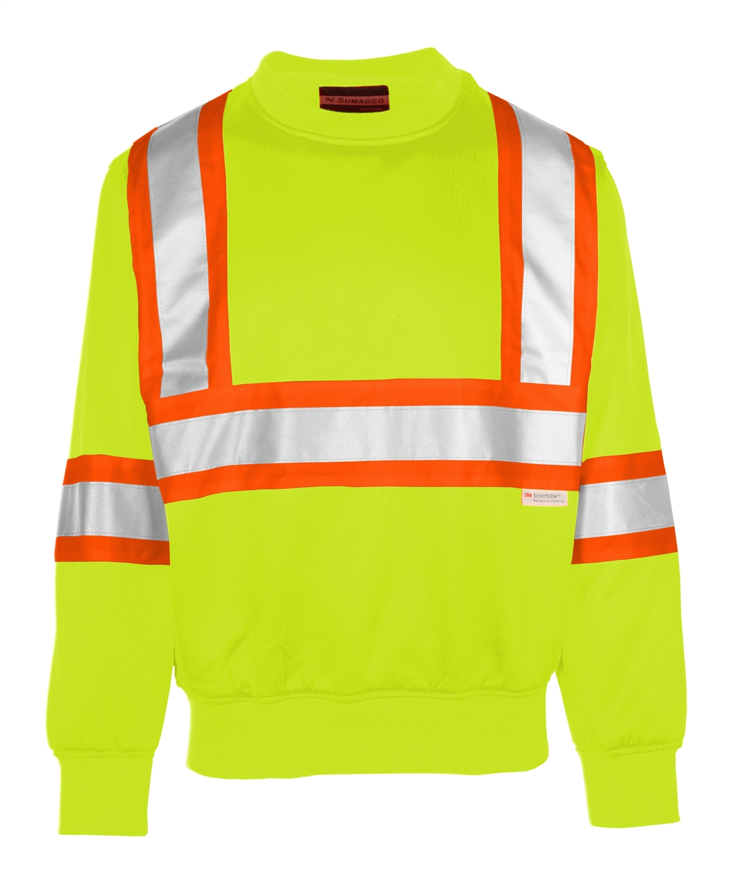 Picture of Sumaggo High Visibility Crew Neck Sweatshirt