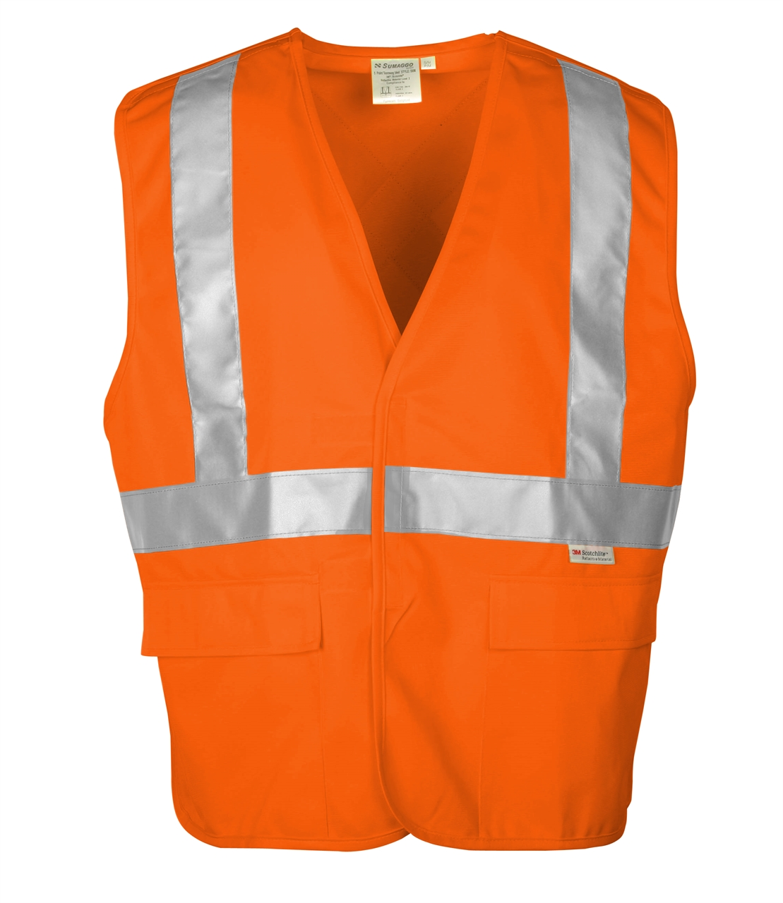 Picture of Sumaggo High Visibility (Hv) 5 Point Tear Away Vest
