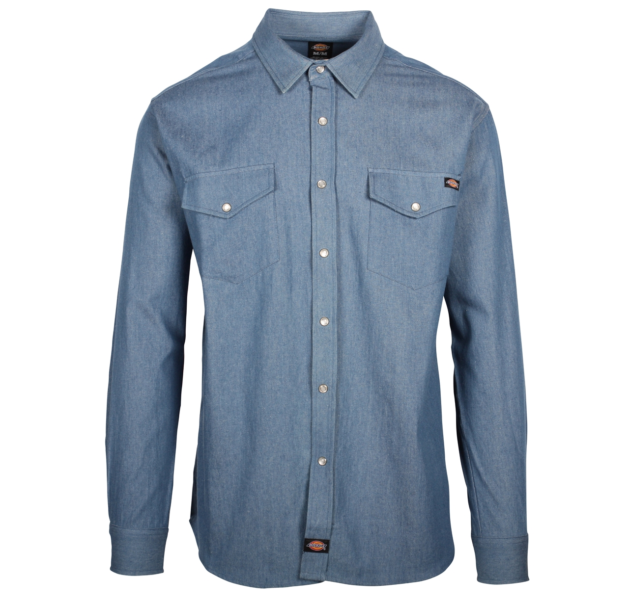 Picture of Dickies Long Sleeve Denim Shirt