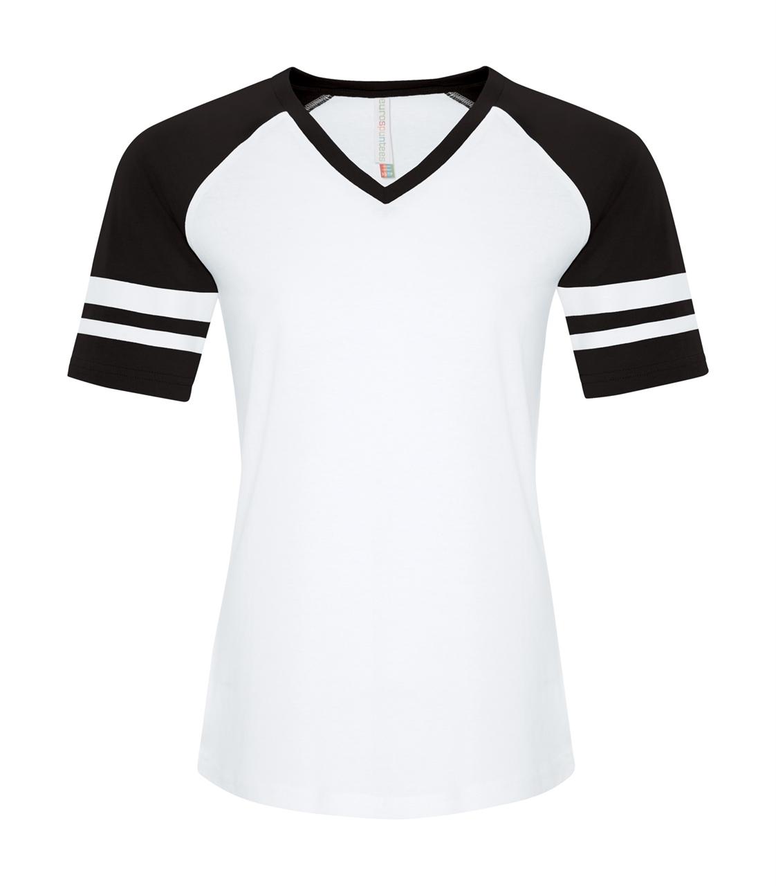 Picture of ATC Ring Spun Ladies' Baseball Tee