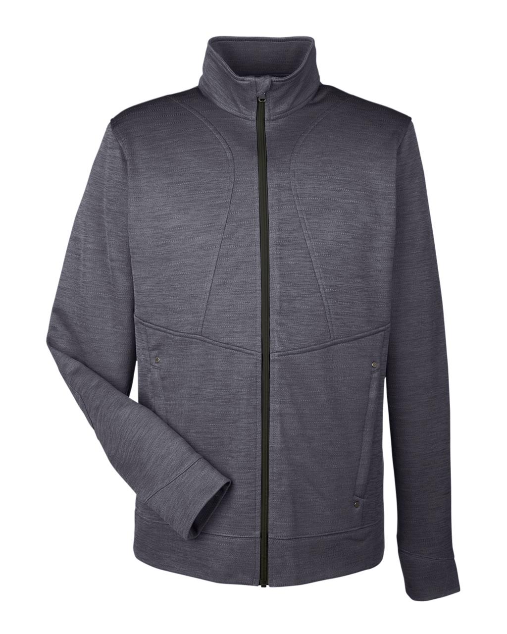 Picture of North End Men's Amplify Melange Fleece Jacket