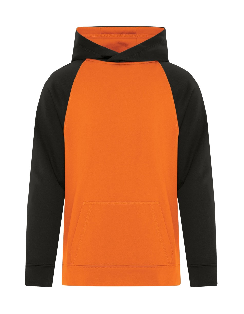 Picture of ATC Game Day Fleece Two Tone Hooded Youth Sweatshirt