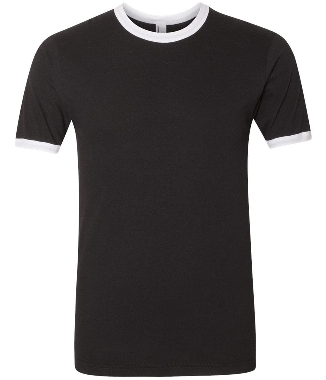 Picture of American Apparel Poly-Cotton Short-Sleeve Ringer T-Shirt
