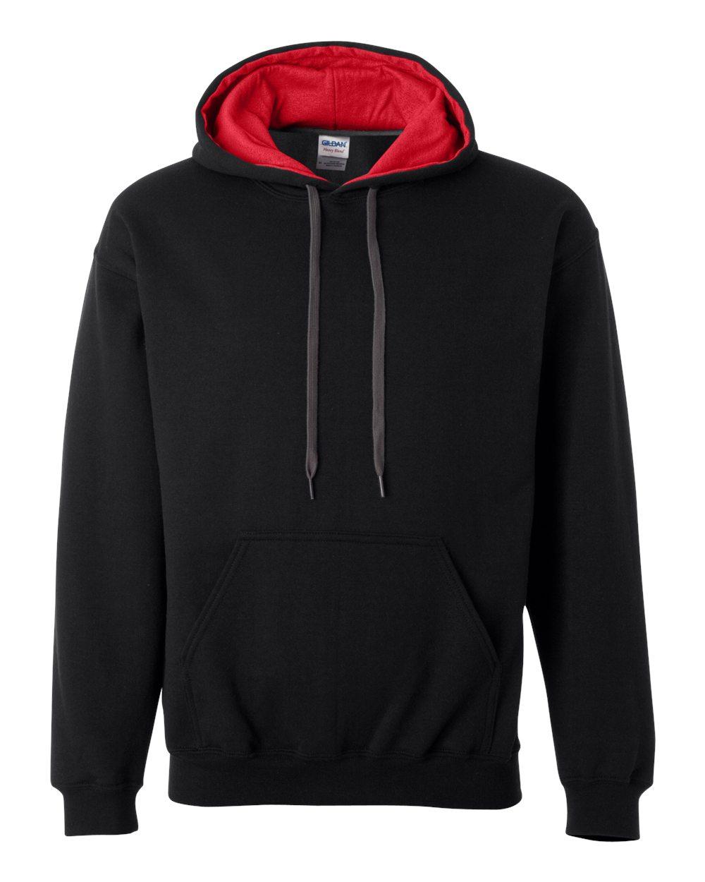 Picture of Gildan Contrast Hooded Sweatshirt