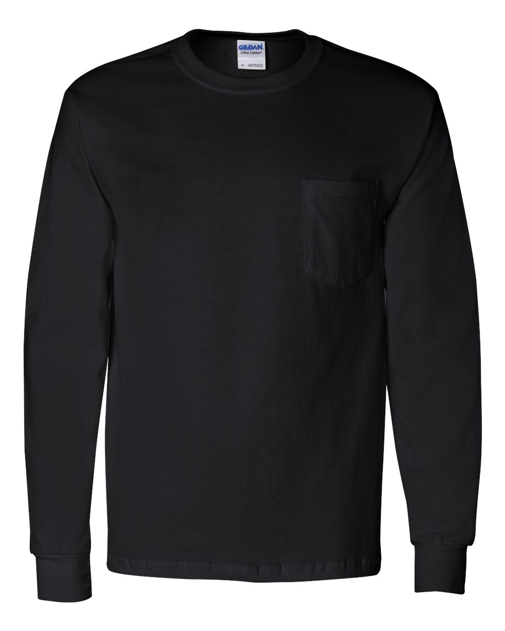 Picture of Gildan Long Sleeve Pocketed T-Shirt