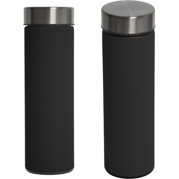 Picture of Quietcity Matte Black Water Bottle