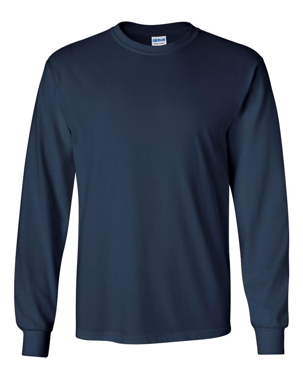 2b758aa0945 GILDAN Ultra Cotton Long Sleeve T
