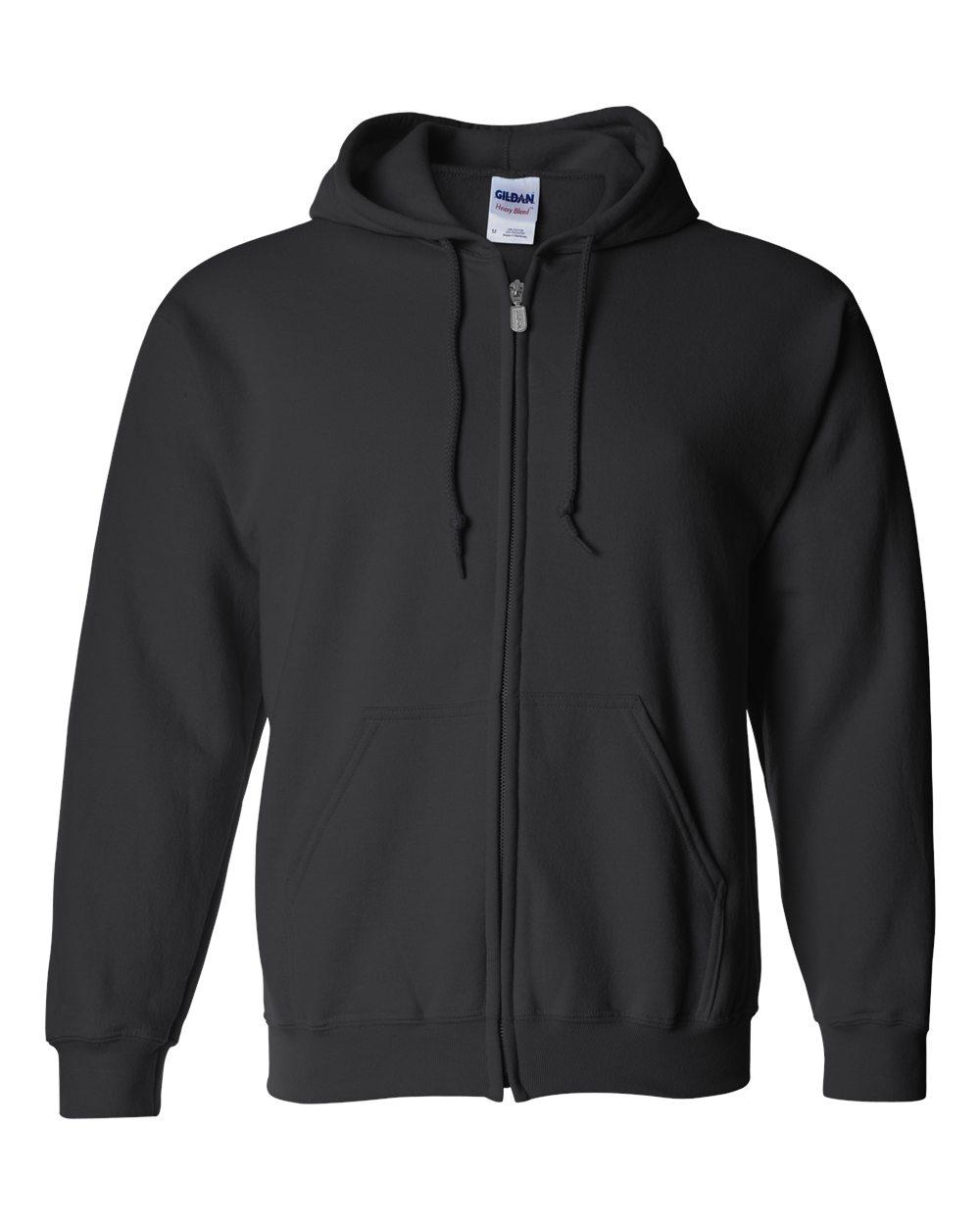 Picture of Gildan Heavyweight Blend Adult Full Zip Hooded Sweatshirt