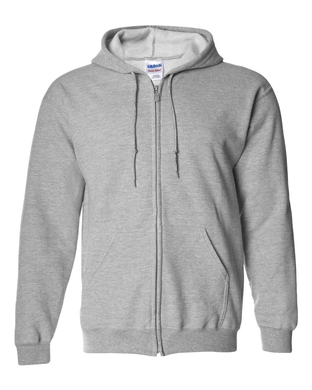 744dad1bb Picture of Gildan Heavyweight Blend Adult Full Zip Hooded Sweatshirt